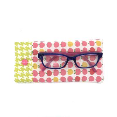 Etui à lunettes pour enfant, Pommes