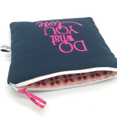Pochette à message, TAILLE XL, Do what you love