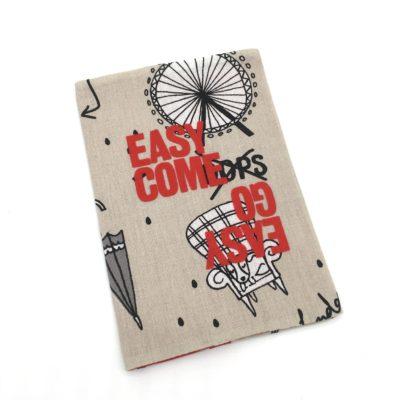 Protège passeport, UK -easy come easy go