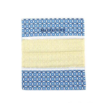 Porte chéquier, Bleu