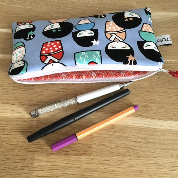 Trousse scolaire kokeshi 3 MELIFACTORY
