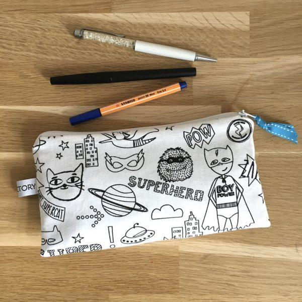 Trousse scolaire super hero 2 MELIFACTORY