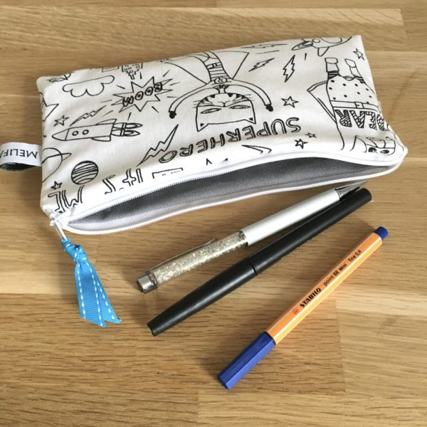 Trousse scolaire super hero 3 MELIFACTORY