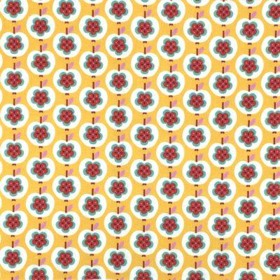 Canvas pommes jaunes, 20 x 110 cm