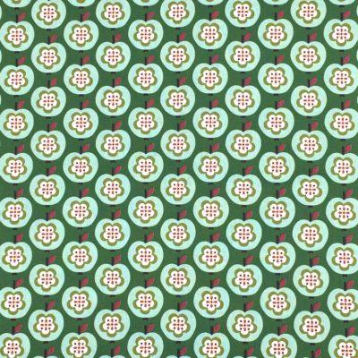 Canvas pommes vertes, 20 x 110 cm