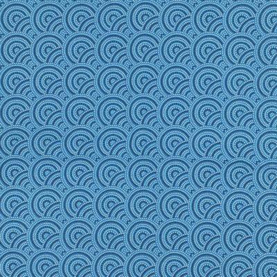Coton japonais bleu, 20 x 150 cm