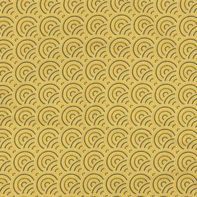 Coton japonais moutarde, 20 x 150 cm