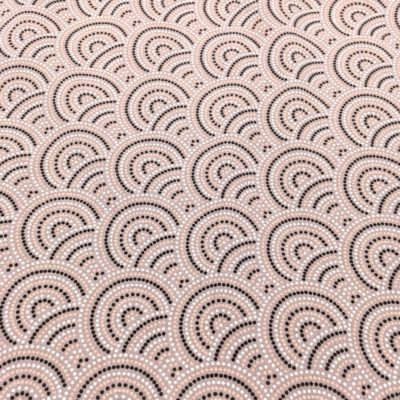 Coton japonais rose, 20 x 150 cm