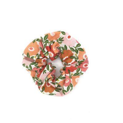 Chouchou, fleurs oranges