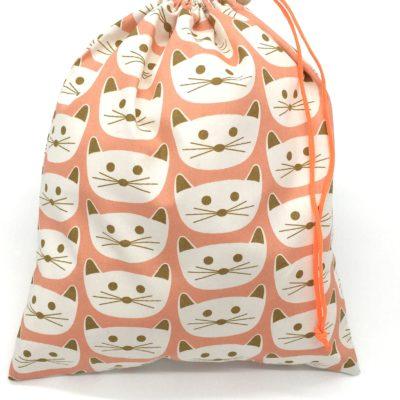 Sac de voyage, sac bébé, TAILLE L, chats roses