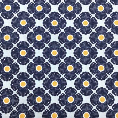 Coton blossom bleu, 20 x 110 cm