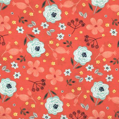 Coton fleurs Madison, 20 x 110 cm