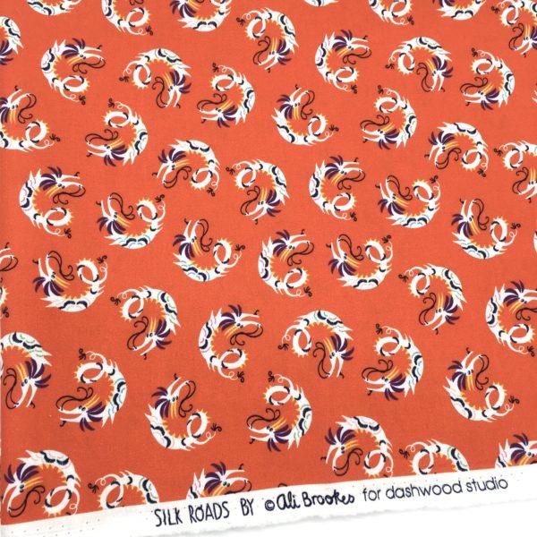 DASHWOOD silk road dragon rouge MELIFACTORY