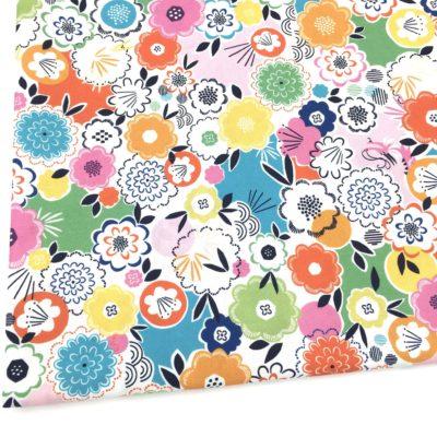 Coton fleurs, Silk roads, 20 x 110 cm
