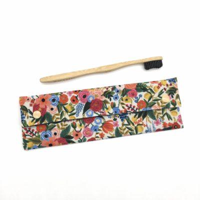 Etui à couverts/brosse à dents-Fleurs Rifle Paper Co.
