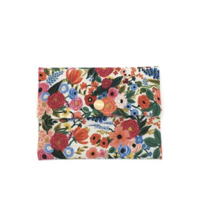Pochette à savon, fleurs Rifle Paper co