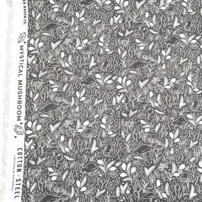 Coton champignons, 20 x 110 cm